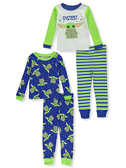 Boys' Yoda Medley 2-Pack Pajamas by Star Wars in Multi, Sizes 2T-4T