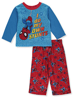 Spider-Man Baby Boys' Stunts 2-Piece Pajamas by Marvel in Multi