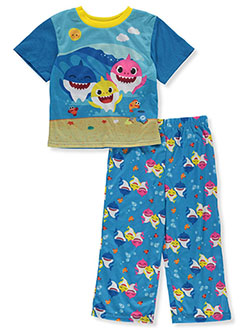 Baby Boys' 2-Piece Pajamas by Pinkfong Baby Shark in Multi