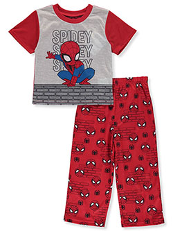 Boys' Spidey 2-Piece Pajamas by Spiderman in Multi, Boys Fashion