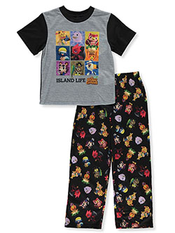 Boys' Island Life 2-Piece Pajamas by Animal Crossing in Multi