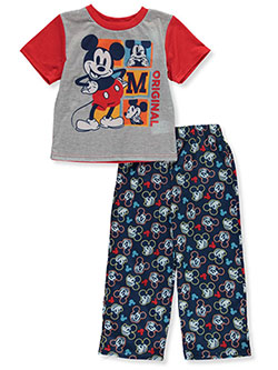 Baby Boys 2-Piece Pajamas by Disney Mickey Mouse in Red/multi