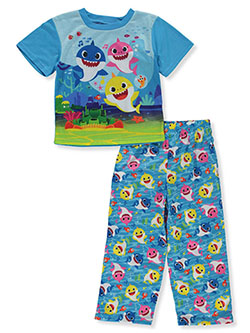 Baby Boys' 2-Piece Pajamas by Pinkfong Baby Shark in Blue/multi