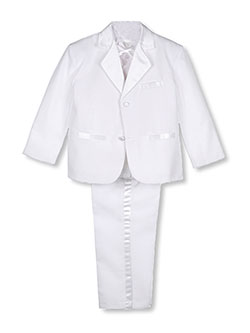 Kaifer Little Boys' Toddler 5-Piece Tuxedo (Sizes 2T - 4T) - CookiesKids.com