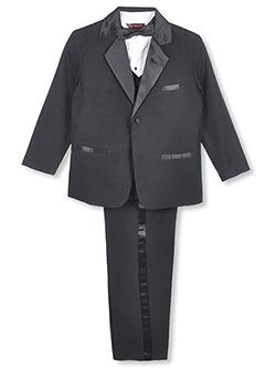 Kaifer Little Boys' 5-Piece Tuxedo (Sizes 4 - 7) - CookiesKids.com