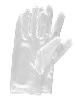 Basic Gloves by The Communion Collection in White - Accessories