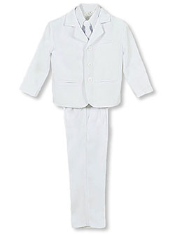 "Kaifer ""Twill Formal"" 5-Piece Suit (Sizes 4 – 7) - CookiesKids.com"
