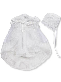 Chic 3-Piece Christening Outfit by Chic Baby in White