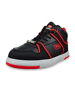 Boys' Hi-Top Sneakers by Ecko Unltd. in black and navy/white, Youth