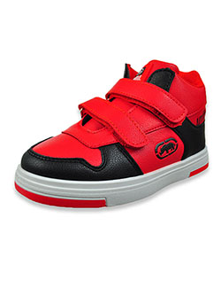 Boys' Hi-Top Sneakers by Ecko Unltd. in red/black and white/black, Toddler