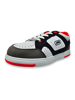 Boys' Lo-Top Sneakers by Ecko Unltd. in White/navy, Youth