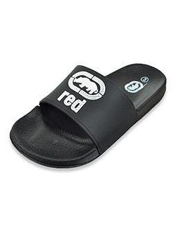 Boys' Slide Sandals by Ecko Unltd. in Black, Youth