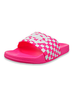 Girls' Tie-Dye Cloud Slide Sandals by Ecko Unltd. in Fuchsia, Youth