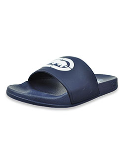 Boys' Slide Sandals by Ecko Unltd. in Navy, Youth