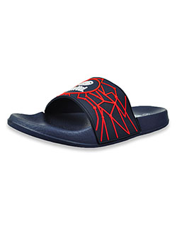 Boys' Web Slide Sandals by Ecko Unltd. in Navy, Youth