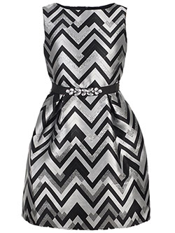 Amy Byer Big Girls' Belted Dress (Sizes 7 – 16) - CookiesKids.com