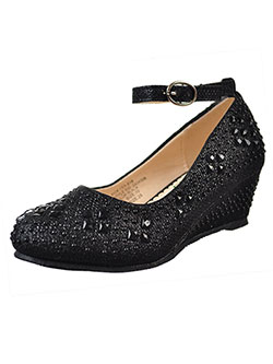 Girls' Wedge Heels by Angels in Black