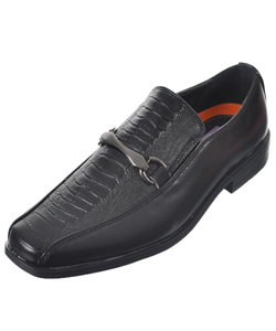 "Jodano Collection Boys' ""Gator Ridge"" Loafers (Youth Sizes 13 – 4) - CookiesKids.com"