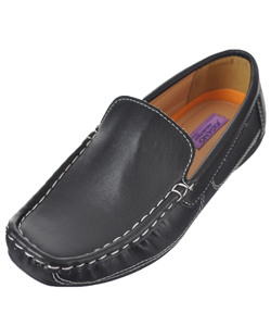 "Jodano Collection Boys' ""Voiture"" Driving Loafers (Youth Sizes 13 – 5) - CookiesKids.com"