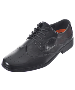"Jodano Collection Boys' ""Long Corridor"" Dress Shoes (Youth Sizes 13 – 4) - CookiesKids.com"