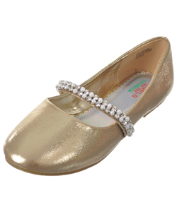 "Angels Girls' ""Pearly Sweet"" Flats (Youth Sizes 6 – 8) - CookiesKids.com"