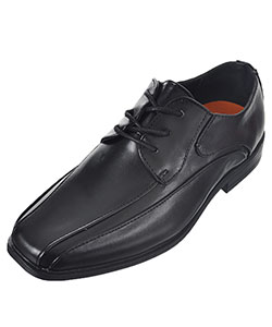 "Jodano Collection Boys' ""Groove Panel"" Dress Shoes (Youth Sizes 13 – 4) - CookiesKids.com"