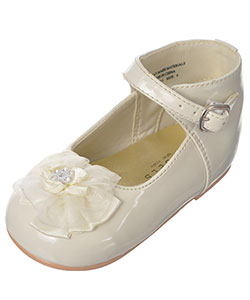"Angels Baby Girls' ""Tulle Toe"" Mary Janes - CookiesKids.com"