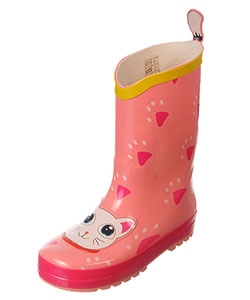 "Angels New York Girls' ""Kitten Paws"" Rain Boots (Toddler Sizes 7 – 12) - CookiesKids.com"