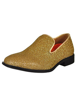 Boys Gold Dress Shoes from Cookie's Kids