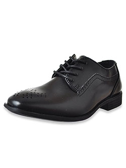 Boys' Dress Shoes by Jodano Collection in black, cognac and white