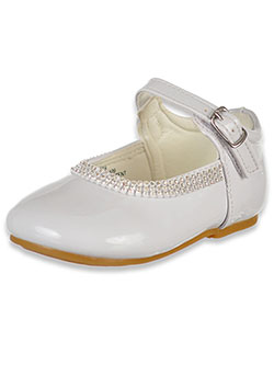 Girls' Bejeweled Trim Mary Jane Shoes by Angels in White, Infants