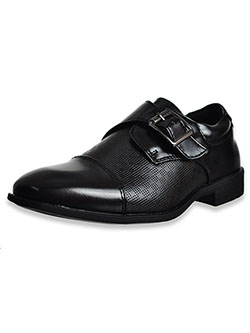 Boys' Buckle Dress Shoes by Jodano Collection in Black