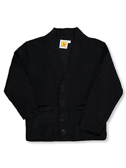 Boys' Cardigan by A+ in Navy, Sizes 2T-4T & 4-7
