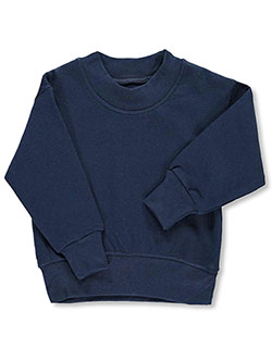 Boys' Sweatshirt by A+ in Navy, Sizes 2T-4T & 4-7