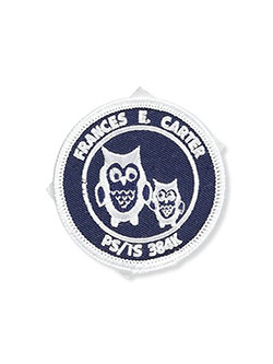 P.S./I.S. 384 Frances E. Carter School Patch by Apollo in White/navy