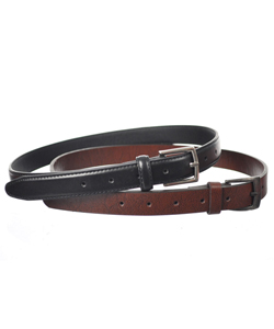 "Beverly Hills Polo Club ""Classic Duo"" 2-Pack Belts (Sizes 22"" – 28"") - CookiesKids.com"