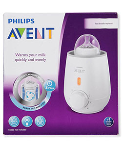 Express Bottle & Food Warmer by Avent in White, Infants