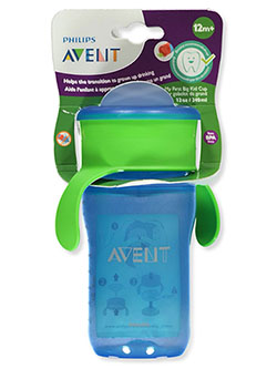 My First Big Kid Cup Sipper by Avent in blue and purple, Infants