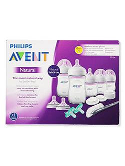 17-Piece Newborn Starter Gift Set by Avent in Multi, Infants
