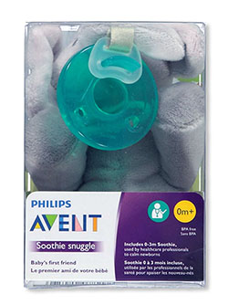 Soothie Snuggle Pacifier with Toy by Avent in Multi, Infants