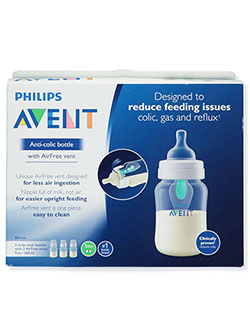 3-Pack Anti-Colic Baby Bottles by Avent in Multi, Infants