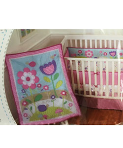 Sumersault 4-Piece Crib Bedding Set - CookiesKids.com
