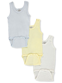 Baby Boys' 3-Pack Tank Bodysuits by Bambini in Multi