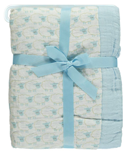 "Hudson Baby ""Shepherd's Swaddle"" Muslin Receiving Blanket - CookiesKids.com"