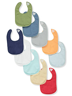 10-Pack Bibs by Hudson Baby in Multi