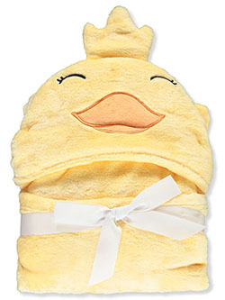 Duck Hooded Blanket by Hudson Baby in Multi