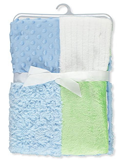 Patchwork Blanket by Hudson Baby in Multi