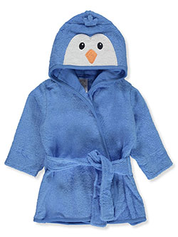 Baby Boys' Penguin Hooded Bathrobe by Luvable Friends in Multi
