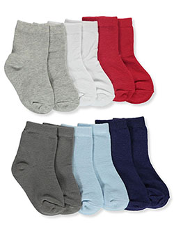 Baby Unisex 6-Pack Socks by Luvable Friends in Multi