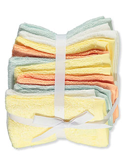 10-Pack Terry Washcloths by Little Treasure in Yellow, Infants